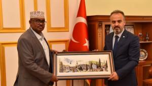Somali'den Bursa'ya teşekkür