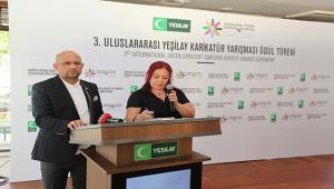 3. Uluslararası Yeşilay Karikatür Yarışması'nda Ödüller Sahiplerini Buldu