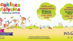 İstMarina AVM, Bu Hafta Sonu Çocuk Atölyeleriyle Renkleniyor