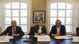 """Kadir Has Üniversitesi """"Yapı Merkezi"""" ve """"Yüksel Proje"""" İşbirliği Anlaşmaları İmzaladı"""