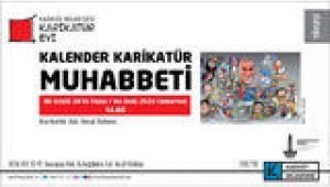 'KALENDER KARİKATÜR MUHABBETİ' AHMET SELÇUK İLKAN'I KONUK EDİYOR