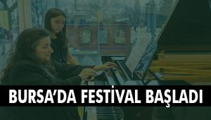 Piyanonun yıldızları Bursa'da parlıyor