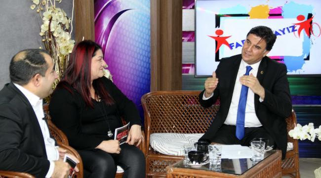 Başkan Karaca, SED Medya'yı ziyaret etti