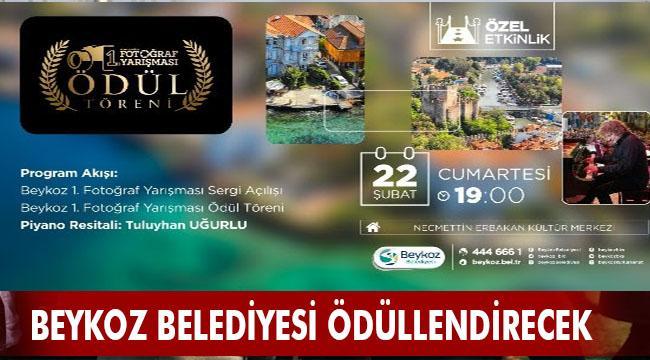 """""""BEYKOZ BELEDİYESİ 1. FOTOĞRAF YARIŞMASI""""NDA ÖDÜLLER SAHİPLERİNE KAVUŞUYOR"""