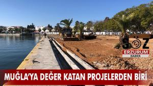 Bodrum Limanı'nda çalışmalar devam ediyor
