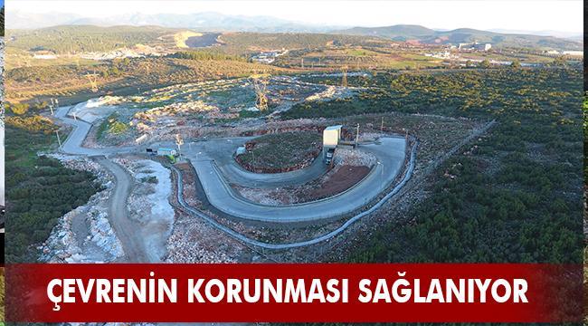 Büyükşehir Aktarma İstasyonu ile 4 Bin 737 ton katı atık aktarıldı
