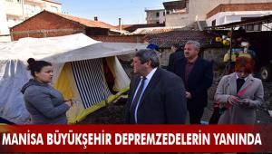 Büyükşehir Depremzedeleri Yalnız Bırakmıyor