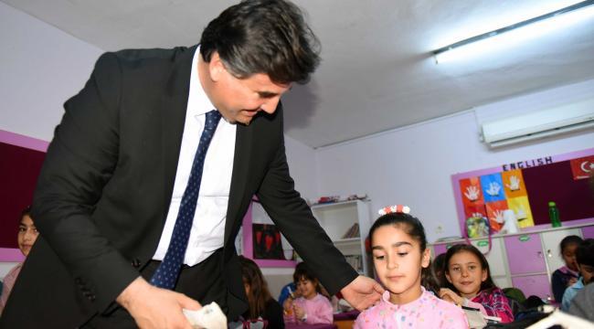 Çevre eğitimleri Karaca'nın katılımıyla başladı