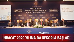İHRACAT 2020 YILINA DA REKORLA BAŞLADI