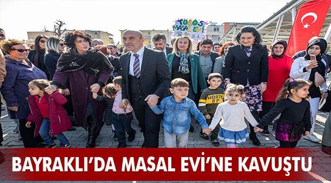 İzmir'in kent merkezindeki ikinci Masal Evi açıldı