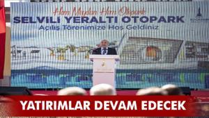 Karabağlar Selvili Yeraltı Otoparkı açıldı