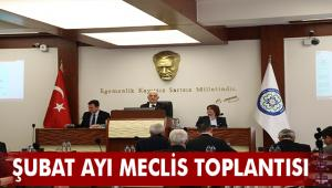 Muğla Büyükşehir Belediyesi Şubat ayı Meclis toplantısı yapıldı
