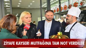 ÖMÜR GEDİK ve SİNAN ENGİN'DEN ZİYAFE KAYSERİ MUTFAĞINA TAM NOT!