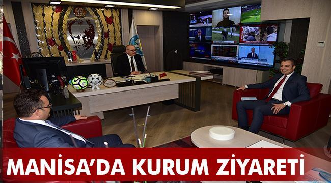 SGK İl Müdürü Kurt'tan Başkan Ergün'e Ziyaret