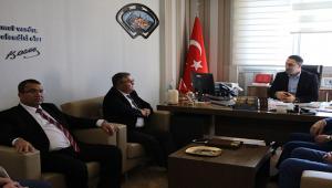 Türk Yerel Hizmet-Sen Genel Başkanından Büyükşehire Ziyaret