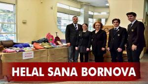 Bornova'da mutluluğun paylaşımı