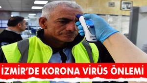 Koronavirüsüne karşı ateş ölçme önlemi