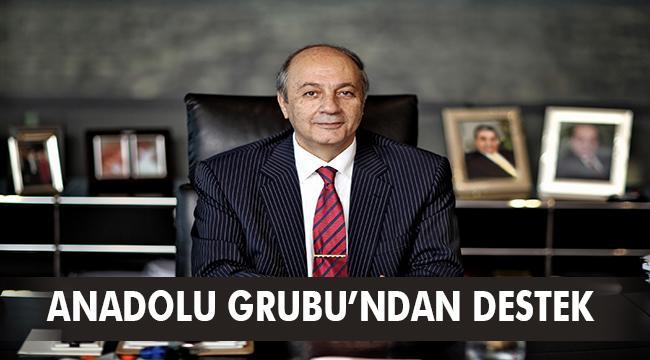 Anadolu Grubu'ndan Milli Dayanışma Kampanyası'na destek