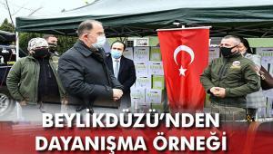 BEYLİKOFF'TAN İHTİYAÇ SAHİPLERİNE DESTEK