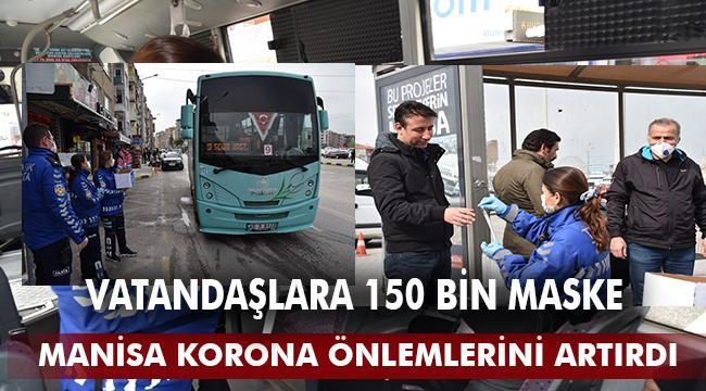 Büyükşehir'den Vatandaşlara 150 Bin Maske