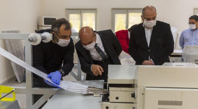 İzmir Büyükşehir Belediyesi'nden günde 60 bin maske