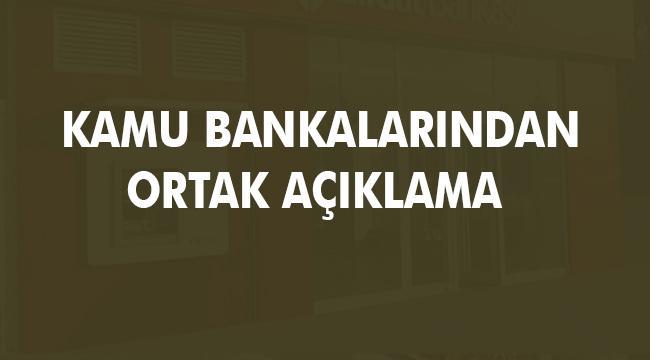 Kamu Bankalarından Rıfat Hisarcıklıoğlu'na tepki