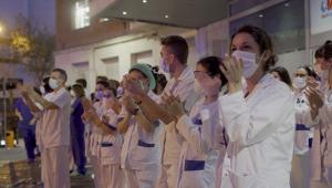 """""""Nefes Ol"""" projesiyle sağlık çalışanlarına destek"""