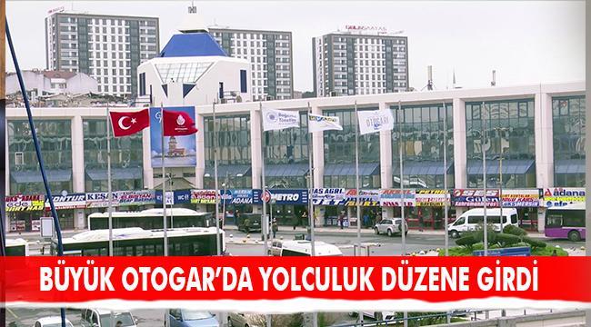 """OTOGARDA """"İZİN BELGELİ"""" YOLCULUK DÜZENE GİRDİ"""