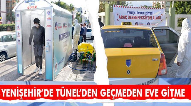 Yenişehir'e steril hayat tüneli