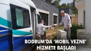 BODRUM BELEDİYESİ'NDEN MOBİL VEZNE UYGULAMASI