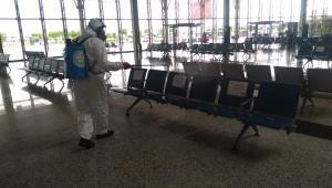 Büyükşehir Terminallerde Tüm Tedbirleri Aldı