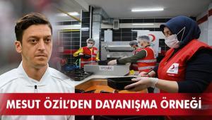 Mesut Özil'den Kızılay'ın Ramazan kampanyasına 114 bin kişilik destek
