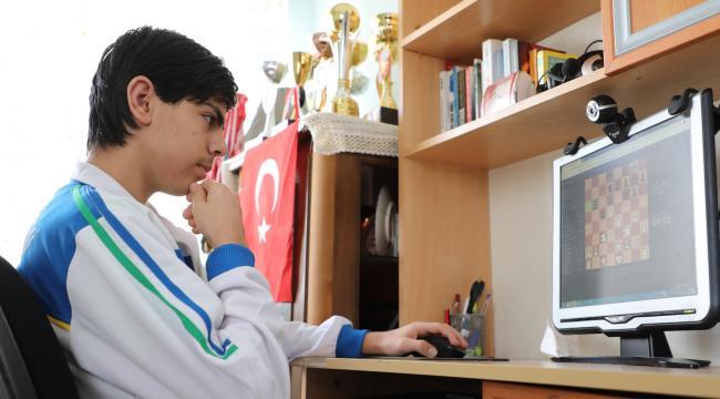 Online Satranç Turnuvasına 2 Bin 624 Sporcu Katıldı