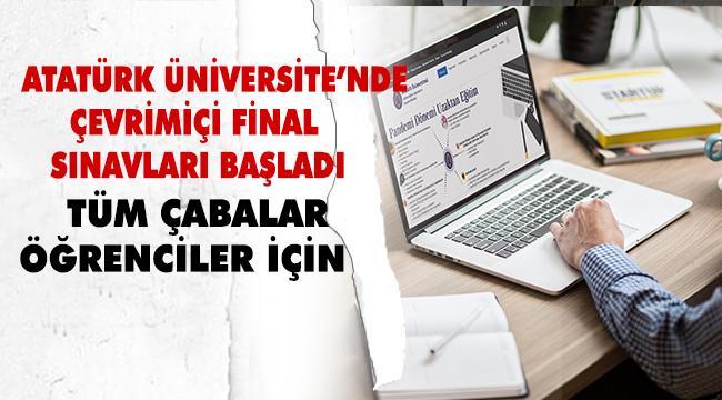 """""""1 Haziran İtibariyle Online Final Sınavlarına Başladık"""""""