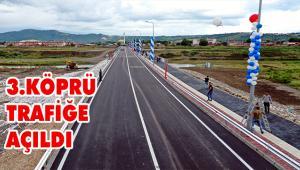 Mustafakemalpaşa'nın iki yakası köprüyle bağlandı