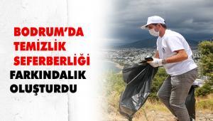 TEMİZLİK SEFERBERLİĞİ DEĞİRMENLERDEN BAŞLADI
