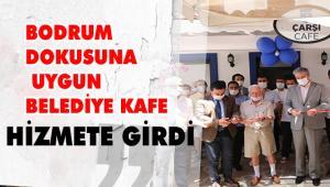 COVID-FREE BELGELİ ÇARŞI CAFE HİZMETE GİRDİ