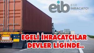 En büyük 500 sanayici şirketin 88 tanesi Egeli ihracatçılardan oluştu