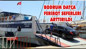 Muğla Büyükşehir Belediyesi Bodrum-Datça arası feribot seferlerini arttırdı