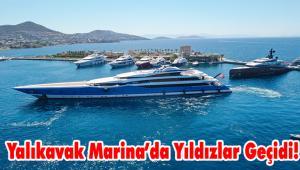 Dünyanın en yeni ve etkileyici tekneleri Yalıkavak Marina'ya gelmeye devam ediyor…