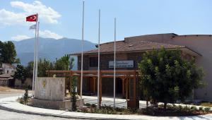 Karaçulha'da parke çalışmasının ardından peyzaj da tamamlandı
