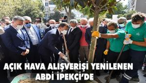 Abdi İpekçi Caddesi'nin yenileme ve düzenleme çalışmaları tamamlandı