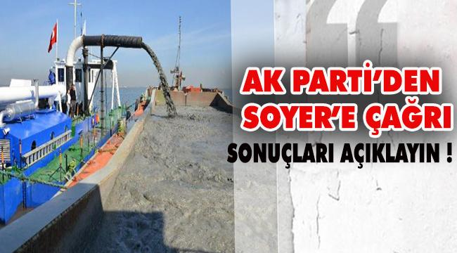 AK Parti'den Soyer'e çağrı