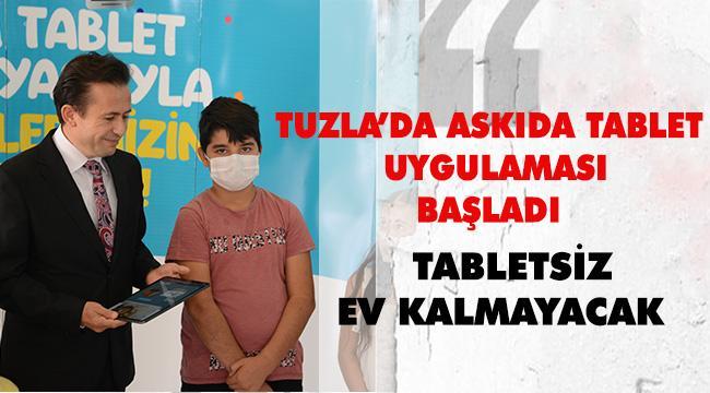 """""""Askıda Tablet"""" projesiyle ihtiyaç sahibi öğrenciler tabletlerine kavuşuyor"""