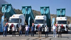 Manisa Büyükşehir Belediyesinin Yol Filosuna Taze Kan