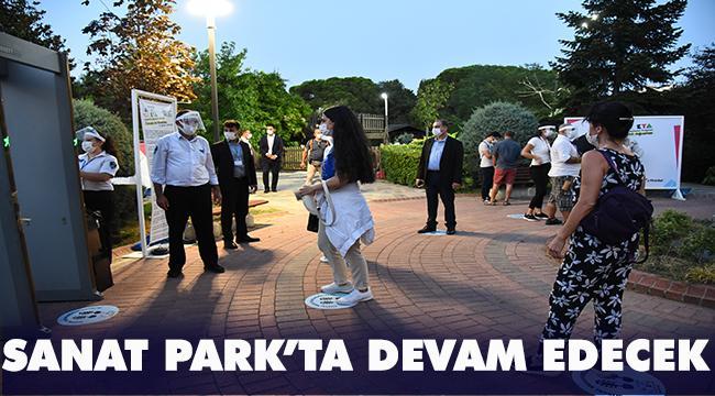 """""""Sanat Parkta"""" Festivali, 17 Eylül itibariyle kaldığı yerden devam ediyor"""