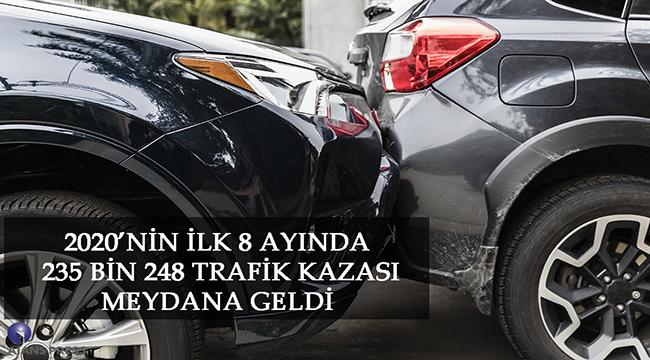 TRAFİK KAZALARINDA SON DURUM