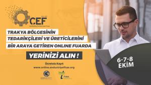 4. Çerkezköy Endüstriyel Fuarı bu yıl online olarak düzenlenecek