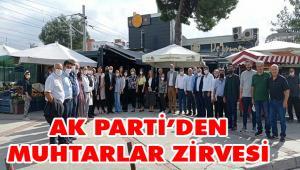 AK Parti Çiğli'den muhtarlar zirvesi