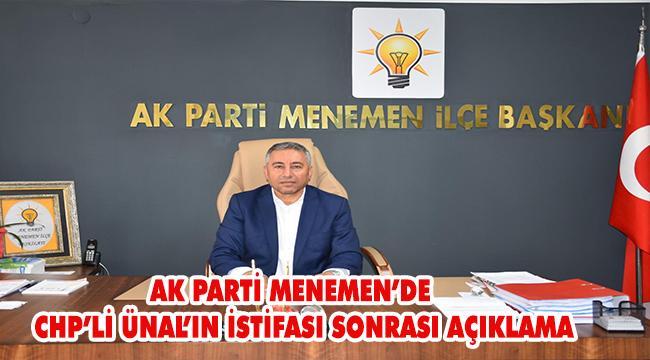 ''Belediye Başkanı Aksoy'un yaptıkları, istifa ile açıkça ortaya çıkmıştır''